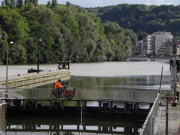 Un SABRINA un peu léger pour son retour sur la Haute-Meuse...  - RiverDating 2015 à Lille -   Le Rhin, visage d'un fleuve  ;)
