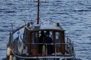 10 bateaux pour cette première du 10è. mois 2015. - Petites interruptions pour travaux sur les vantelles...  Des nouvelles du sud par l'équipage du KAIROS  ;)