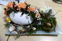 art floral de Pâques 2019