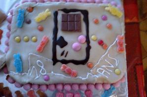 gâteau que j'ai fais pour les 18 ans de mon fils ce week-end
