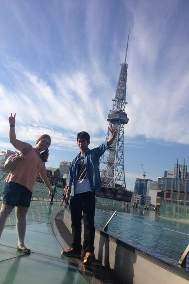 PHOTOS (suite) Nagoya avec Atsuki et Rina