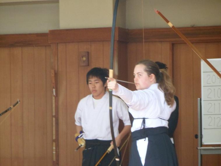 PHOTOS examen de tir à l'arc