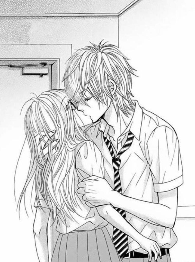 Couple manga musiques tout ce que j 39 aime mais - Dessin manga couple ...