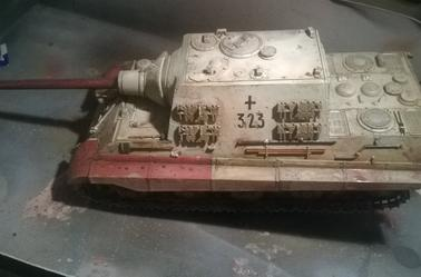 Jagdpanzer VI Jagdtiger (Work in progress)