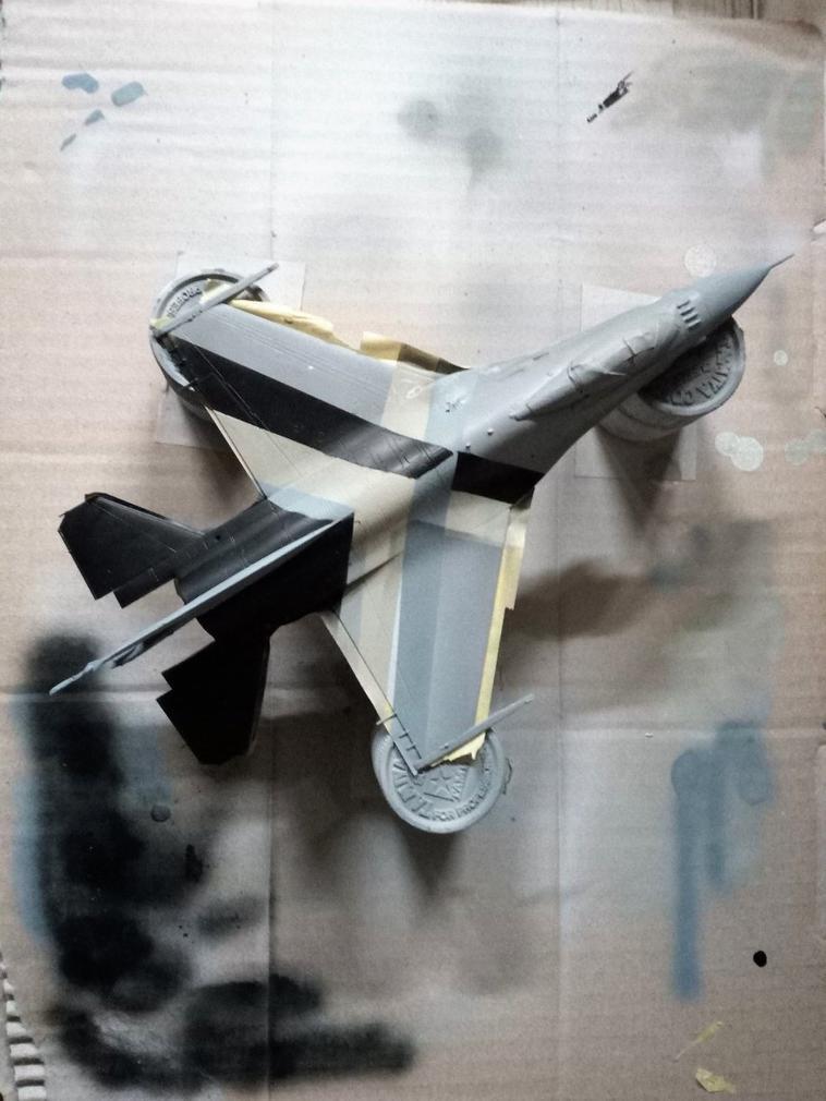 General dynamics F-16 Fighting falcon (wip)