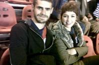 Gaston et sa petite amie Cande Vetrano