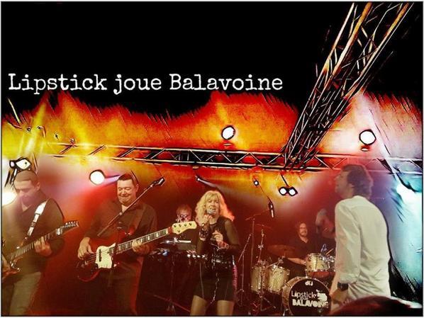 Lipstick joue Balavoine