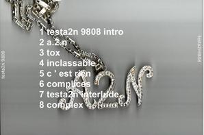 changement de programme : testa2n 98- 08