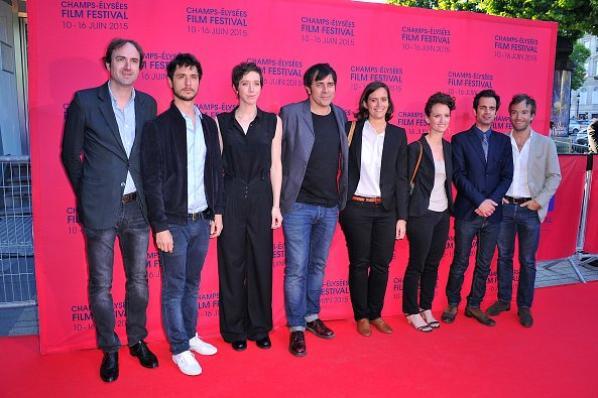 Jonathan Lambert assiste à la 4e cérémonie de clôture Champs-Elysées Film Festival le 16 Juin 2015, Paris, France.