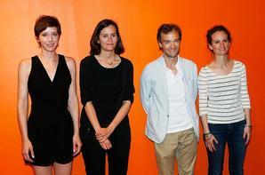 "Sara Giraudeau, Rose Philippon, Jonathan Lambert et Alice Philippon pour l'avant-première du film ""Les Betises"""