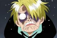 sanji funny face XD
