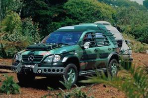 Jurassic World : Des Mercedes-Benz pour le film