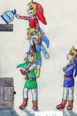 The Legend of Zelda XD