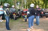 Cascades en motos (et une auto!!) .... à Cormoranche !!!