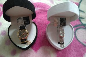 Aaaaaaaaaaaaah mes 2 précieuses montres réunies, de vraies tuerie <3