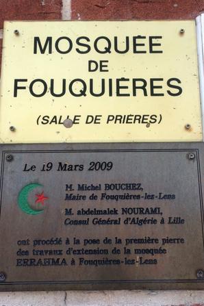 Mosquée de Fouquières-les-Lens