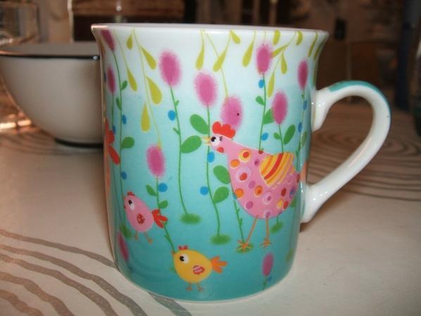 une très jolie mini-tasse