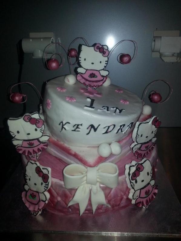 Wedding Cake Hello Kitty Blog De Delice Cake Design 974
