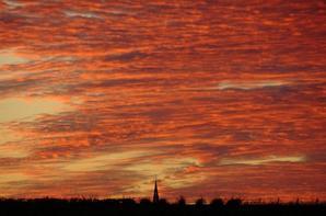 coucher de soleil du 22.11.2020