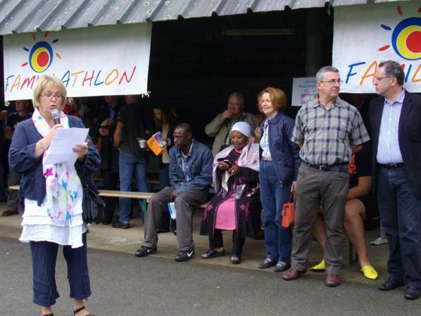 1er FAMILLATHLON en Bretagne à St Thois