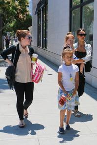 ~ Jess et ses fille à Los Angeles ~