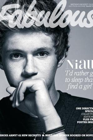 Zoom sur le photoshoot de One Direction pour le magazine anglais Fabulous.