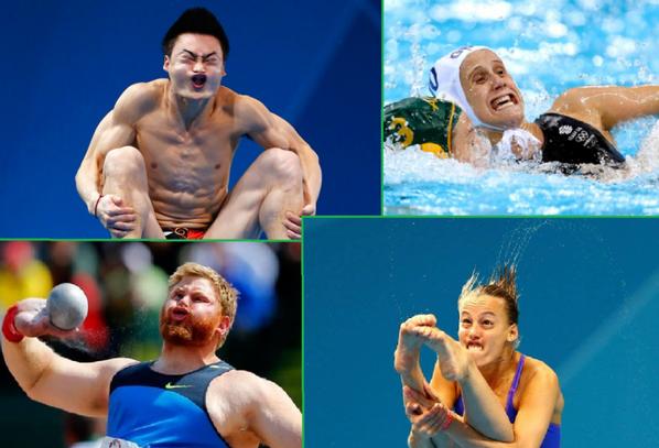 #Drôles de Têtes 1 #JO 2016 de Rio