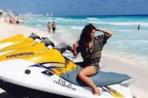 Nina en vacances au Mexique!