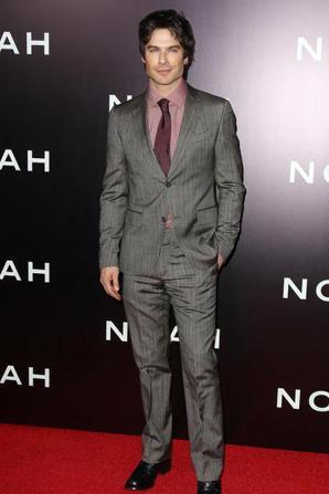 Ian Somerhalder ultra classe pour l'avant-première de Noé
