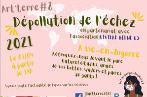 """Samedi 3 avril : """"Dépollution de l'Echez"""" avec RB65 et nos étudiants"""
