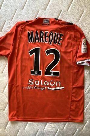 MAILLOT FC LORIENT 2012-2013 Lucas MAREQUE