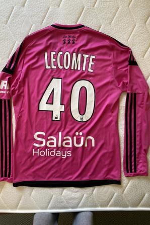 MAILLOT FC LORIENT 2016-2017 ? Benjamin LECOMTE