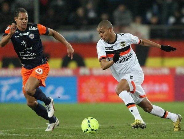 MAILLOT EXTERIEUR FC LORIENT 2012-2013 Kevin MONET-PAQUET