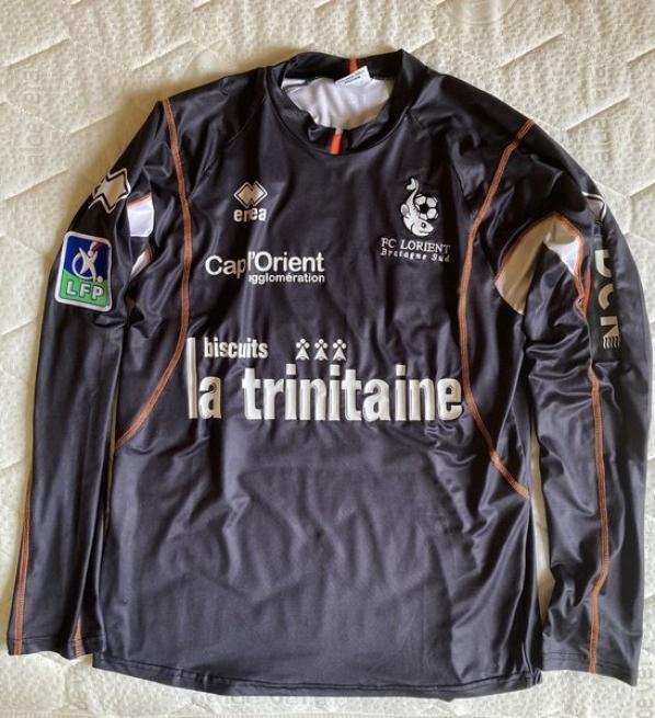 MAILLOT FC LORIENT 2006-2007 (?) FABIEN AUDARD
