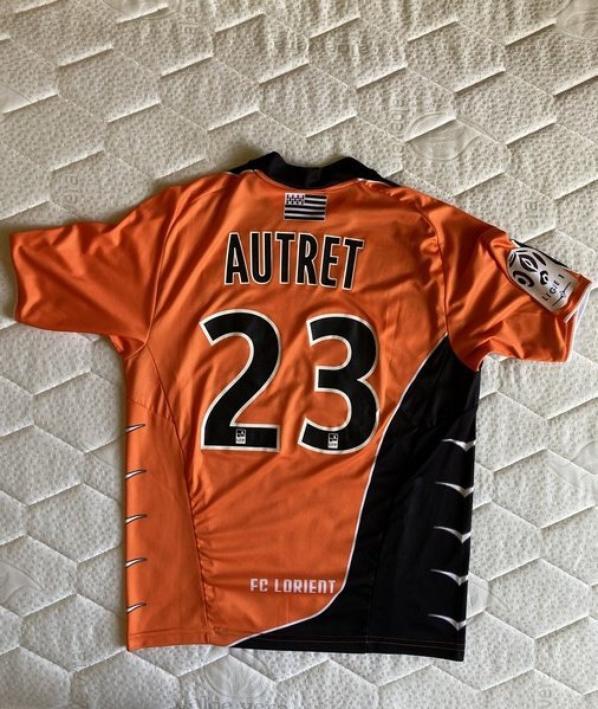 MAILLOT FC LORIENT 2010-2011 Mathias AUTRET