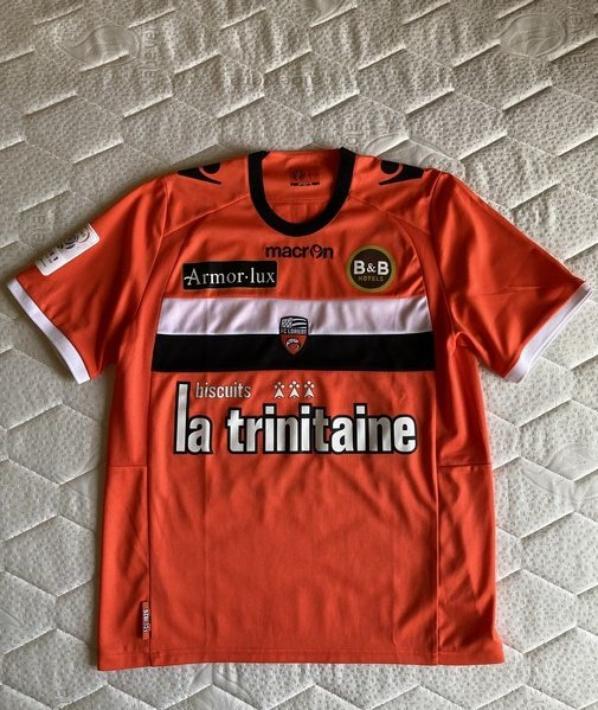 MAILLOT FC LORIENT 2012-2013 Maxime BARTHELME