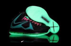 Nike Lebron James 10 Glow in the Dark Shoes