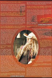 """Dossier spécial """"BE WEST"""" (2008) - Interview magazine """"Tribu move""""  + Le passage TV inédit de la semaine - JEANNE  interviewée par Aymeric Caron  sur I -TELE"""