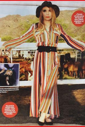 """News presse - Grande interview de Jeanne dans le  magazine """"STARS RETRO"""" (juillet/aout/sept 2019)"""
