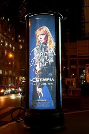 Vu dans les rues de Paris - L' OLYMPIA s'affiche...