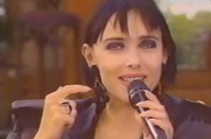 """Le passage TV de la semaine - Laurent Boyer reçoit Jeanne dans son émission  """" OUVERT LE DIMANCHE"""" (28/04/91)"""
