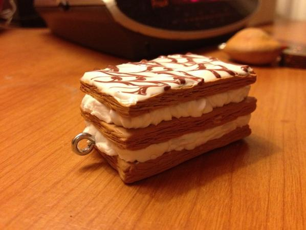 mille feuille chantilly pate fimo blog de targueritte creation. Black Bedroom Furniture Sets. Home Design Ideas