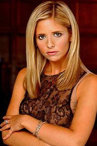 l evolution de Buffy au files  de saisons