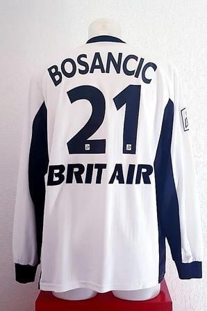 MAILLOT PORTE PAR JOVO BOSANCIC AVEC GUINGAMP SAISON 1998.1999