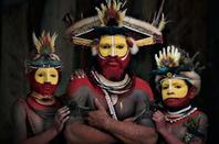 Clichés de Jimmy Nelson, photo-reporter et militant pour la reconnaissance des peuples indigènes du monde