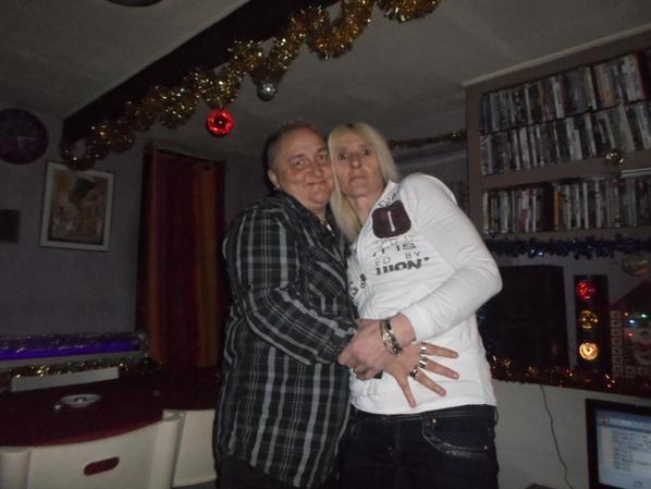 moi et ma chérie que j'aime la femme de ma vie