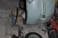 restauration d'un Vespa 125 Type N