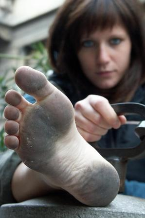 Feet Dirt =)