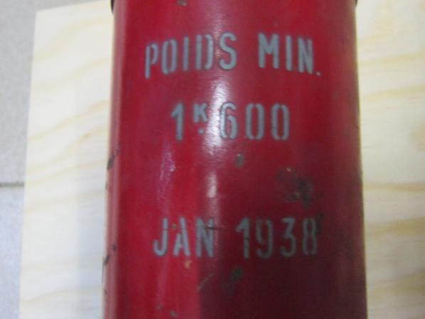 extincteur de 1938