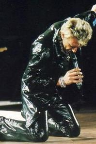 Stade de France 98 Johnny allume le feu